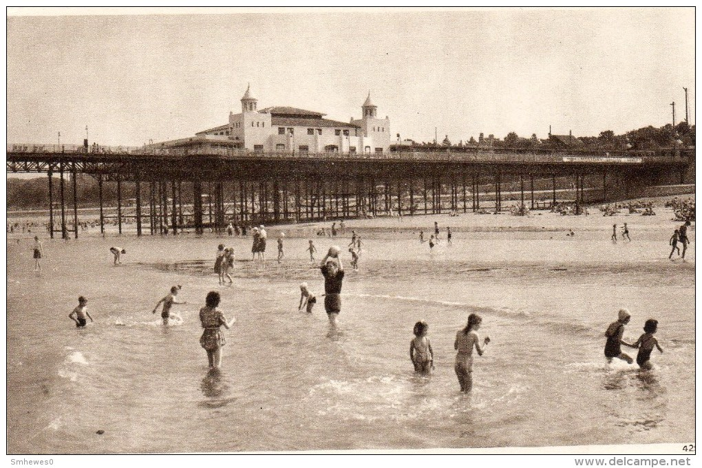 Postcard - Colwyn Bay Pier, Conwy. 4291 - Caernarvonshire