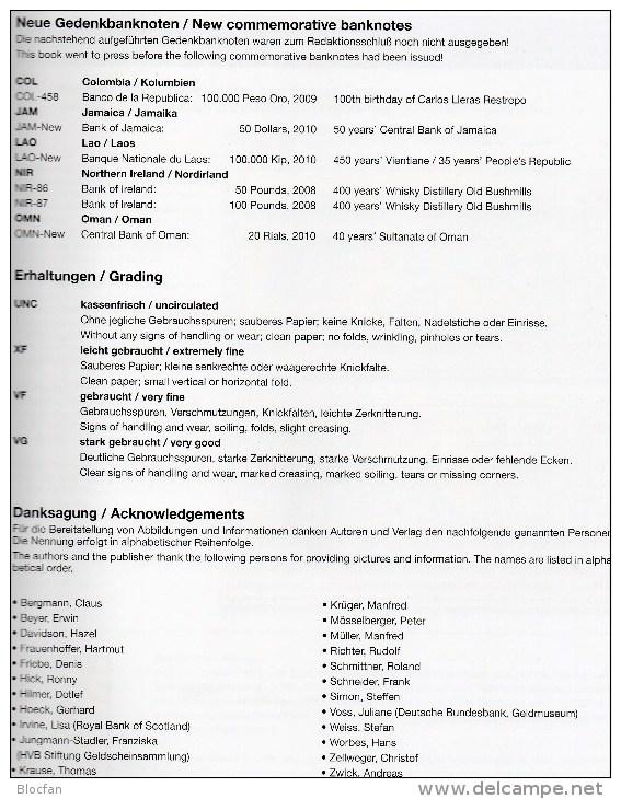Gedenk-Banknoten Katalog 2011 Der Welt Neu 40€ Deutsch/english Commemorative Note Catalogue Numismatica Of All The World - English