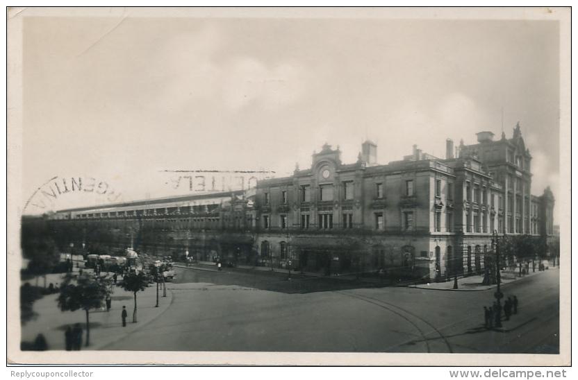 BUENOS AIRES - 1937 , Bahnhof E.C. Oeste - Argentina