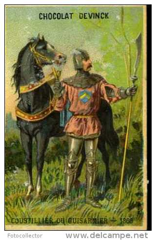 Chocolat Devinck Coustillier Ou Guisarmier En 1360 - Altri