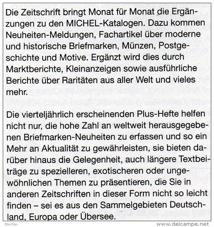 Briefmarken Rundschau MICHEL 4/2015 Neu 6€ New Stamps Of The World Catalogue And Magacine Of Germany ISBN 9783954025503 - Deutsch