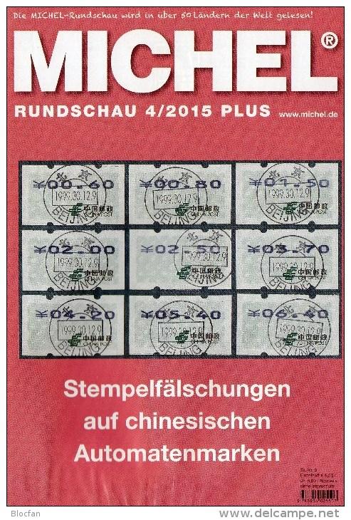 Briefmarken Rundschau MICHEL 4/2015-plus Neu 6€ New Stamps World Catalogue And Magacine Of Germany ISBN 9 783954 025503 - Tijdschriften: Abonnementen