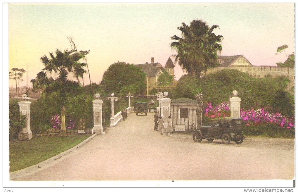 The Belleview Biltmore, Main Entrance, Belleair, Florida - United States