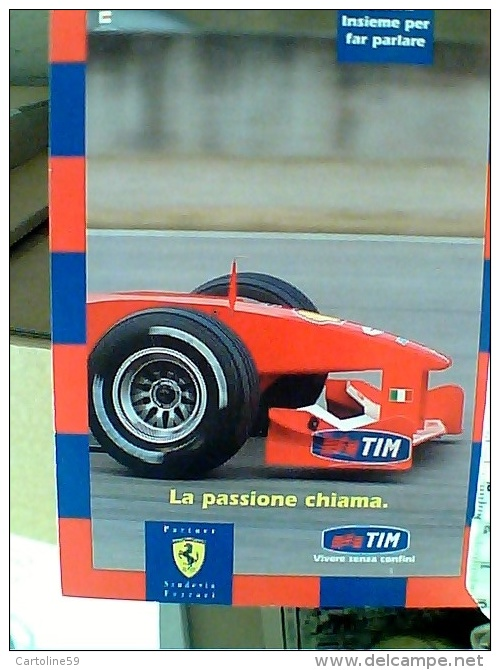 Pubblicitaria Citrus N° 438 AUTO CAR F 1 Ferrari Campione Del Mondo Tim GP   N2010 ET16659 - Grand Prix / F1