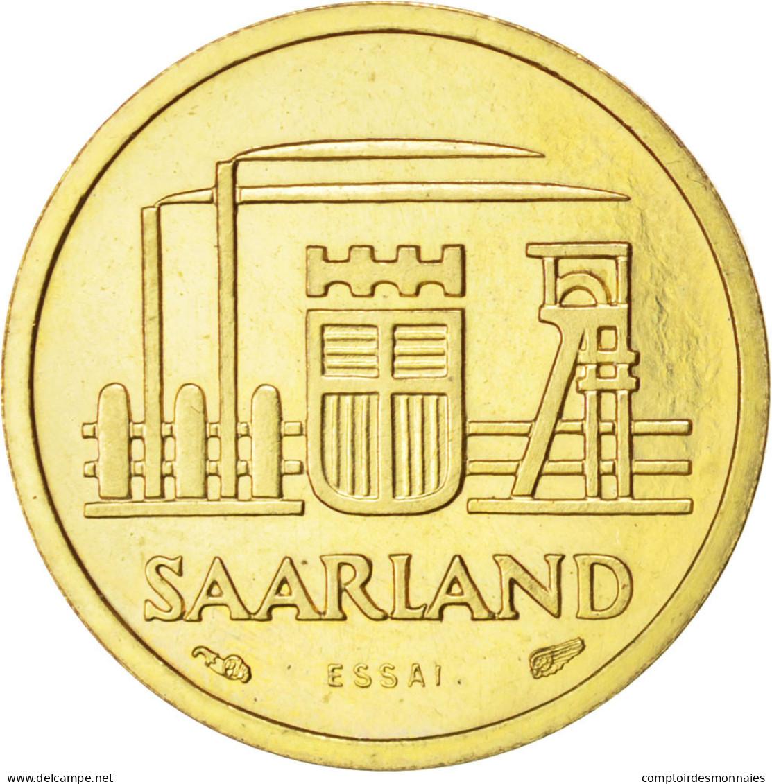 [#84626] Sarre, 10 Franken 1954 Essai, KM E1 - Sarre