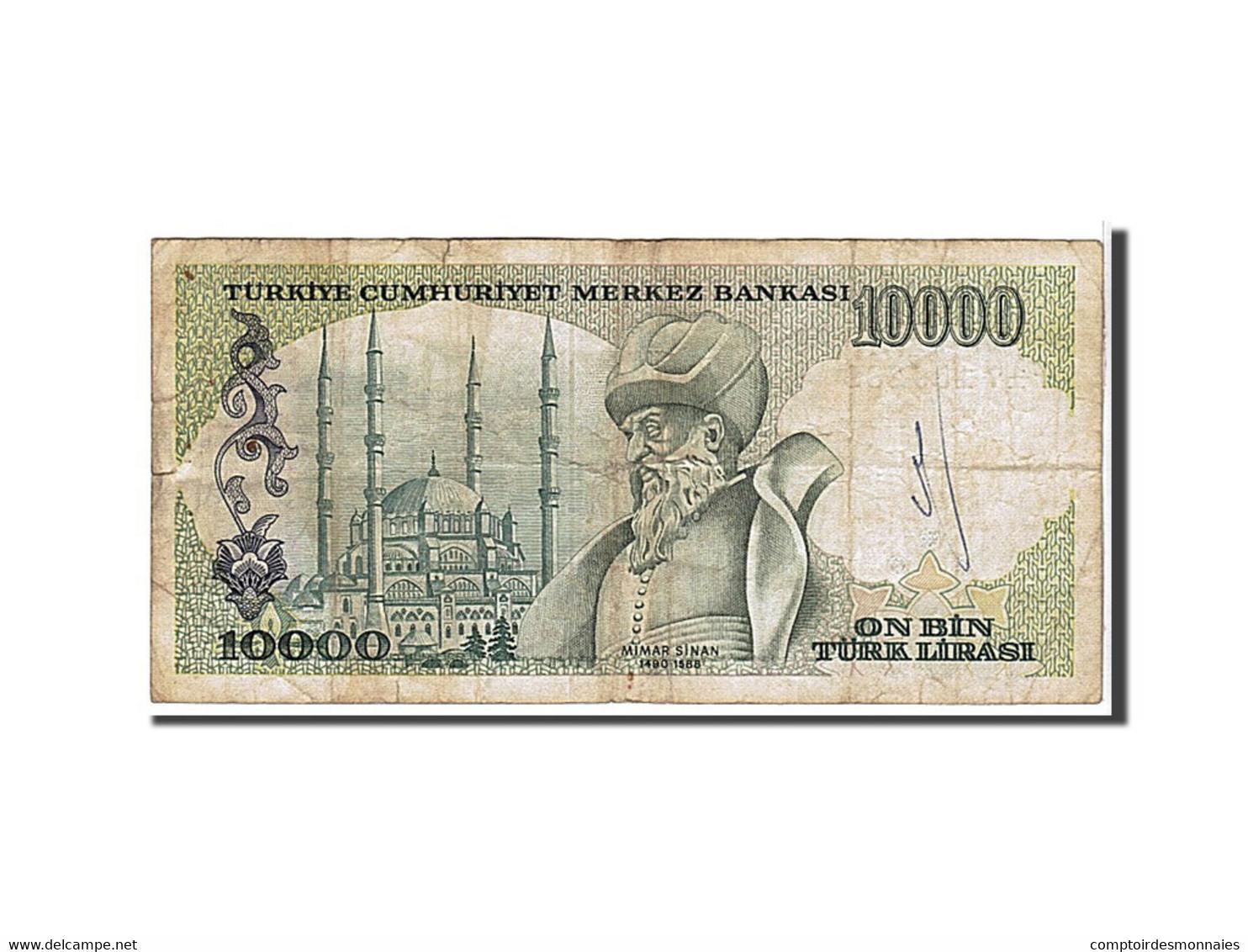 Turquie, 10 000 Lira Type 1970 - Turkije