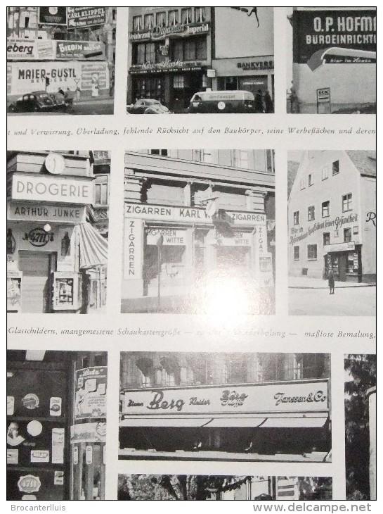 AUSSENWERBUNG  Werbung Am Bau Und Im öffentlichen Raum    LEOPOLD NETTELHORST  1952 - Grafismo & Diseño
