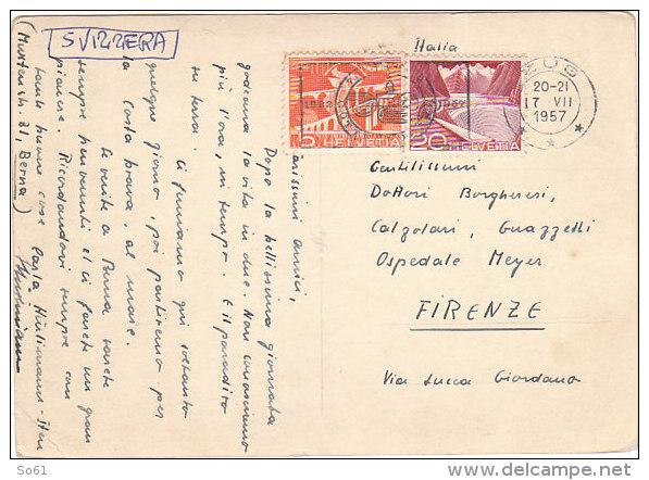 4027.   Zug? 1957 - Medical Doctor Meyer Firenze - ZG Zoug