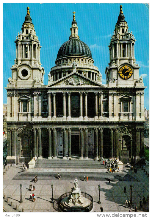 LONDON     ST.  PAUL  CATHEDRAL             (VIAGGIATA) - St. Paul's Cathedral