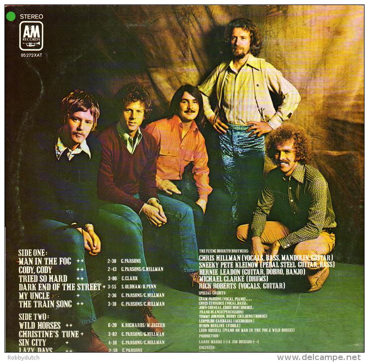 * LP *  FLYING BURRITO BROS - HOT BURRITO (Holland 1975) - Country En Folk