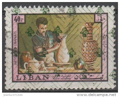 LIBAN N° PA 575 D O Y&T 1973 Artisanat Céramique - Liban
