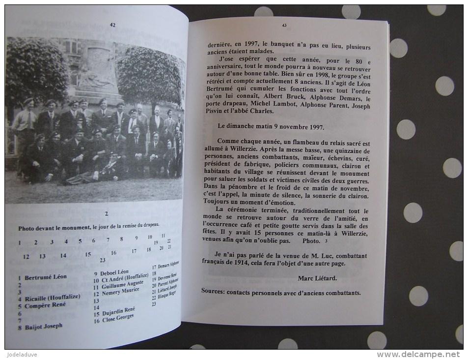 CEHG N° 8 Gedinne Régionalisme Ardenne Guerre 14 18 Bourseigne Vieille Rienne Wartique Willerzie Réfractaires 1824 - Bélgica