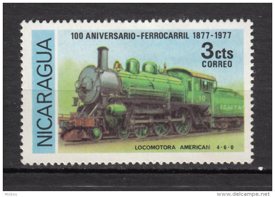 Nicaragua, Train, Cloche, Bell - Treinen