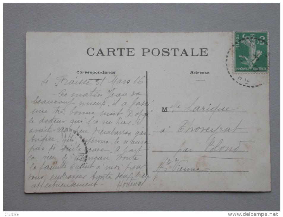 Ref4001 JU CPA Animée De Meziere Sur Issoire (Limousin) - Le Champ De Foire Un Jour De Comice - Foule Bestiaux 1916 - Fiere