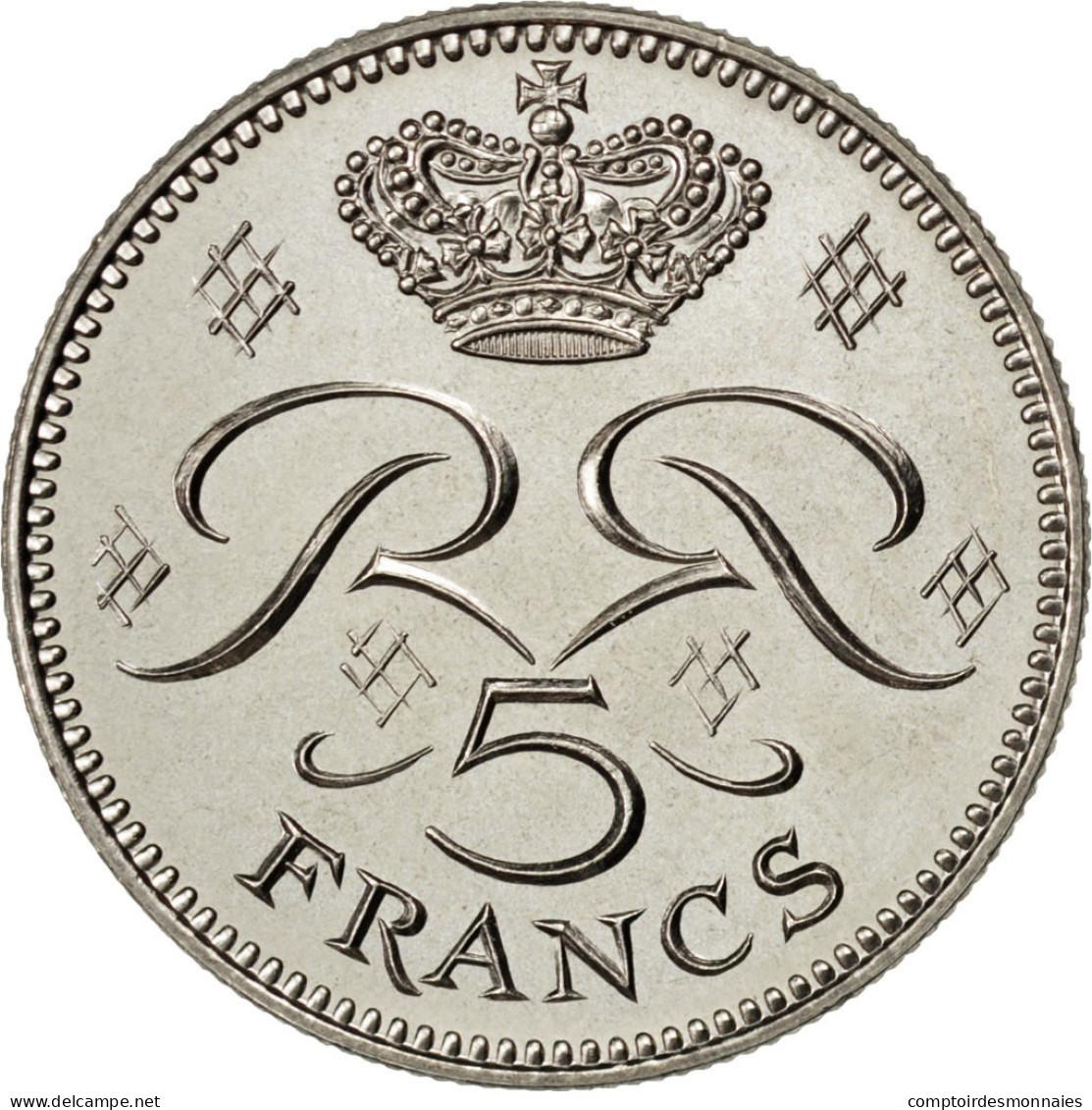 [#83588] Monaco, Rainier III, 5 Francs 1971 Essai, KM E58 - 1960-2001 Nouveaux Francs