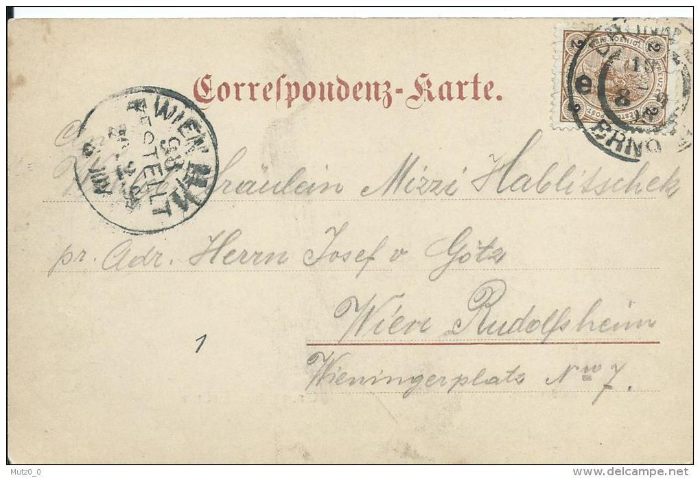 AK 0111  Gruss Aus Brünn - Brünn Vom Spielberg / Verlag Epstein Um  1900 - Tschechische Republik