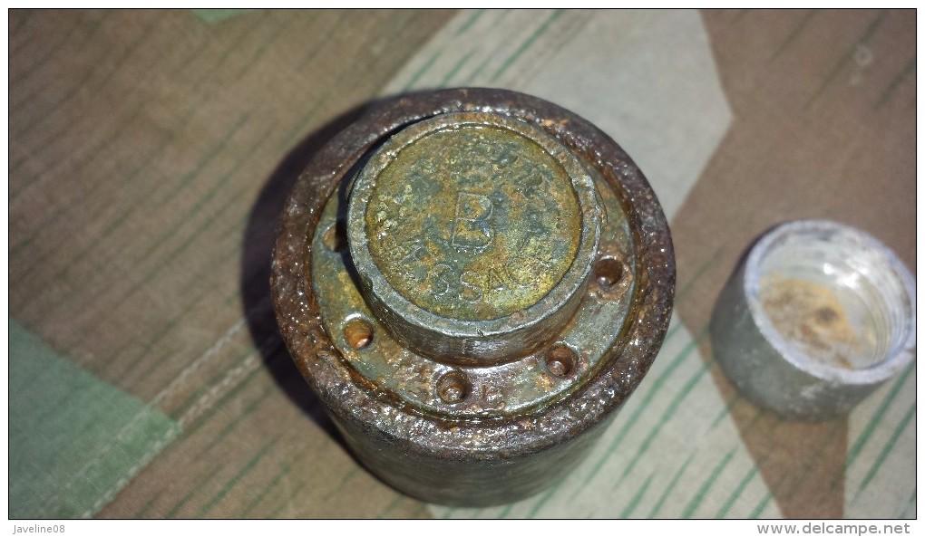 Grenade Vb Porte Message Ww1 Ww2 - 1939-45