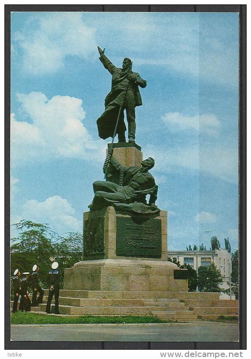 Ukraine, Mykolaiv- Nikolaev, The Monument Of The  61 Communards, 1977. - Ukraine