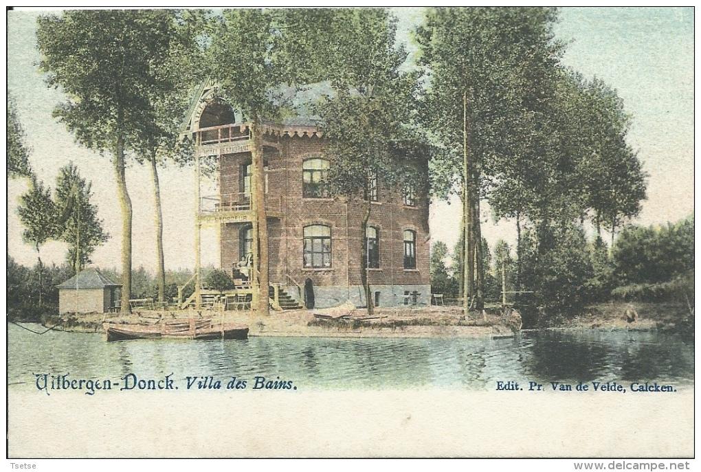 Uitbergen-Donck - Villa Des Bains ( Verso Zien ) - Berlare