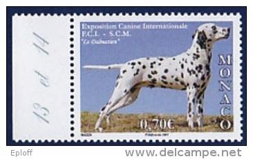 MONACO 2007      Chiens    Exposition Canine  Internationale - International Dog Show 1v - Hunde