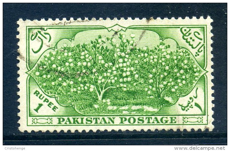 Pakistan 1954 Seventh Anniversary Of Independence - 1r Value Used - Pakistan