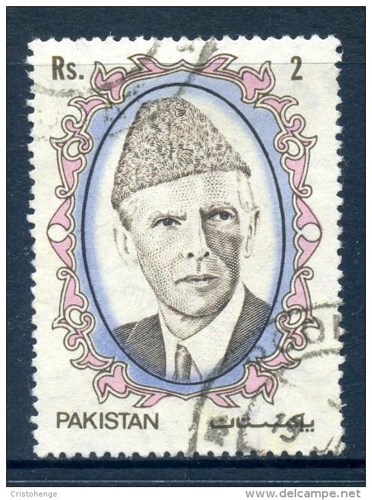 Pakistan 1989 Mohammed Ali Jinnah - 2r Value Used - Pakistan