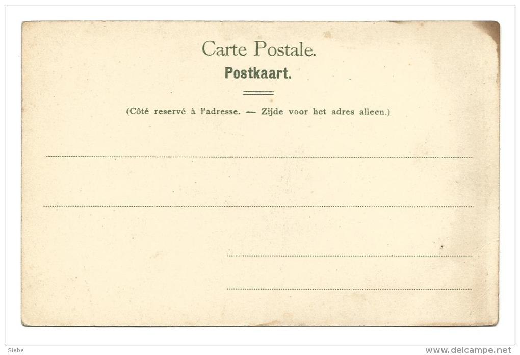 Ganshoren Paysage - Edition EDt E&S  B  4178 Wilhelm Hoffmans A.G. Dresde - Ganshoren