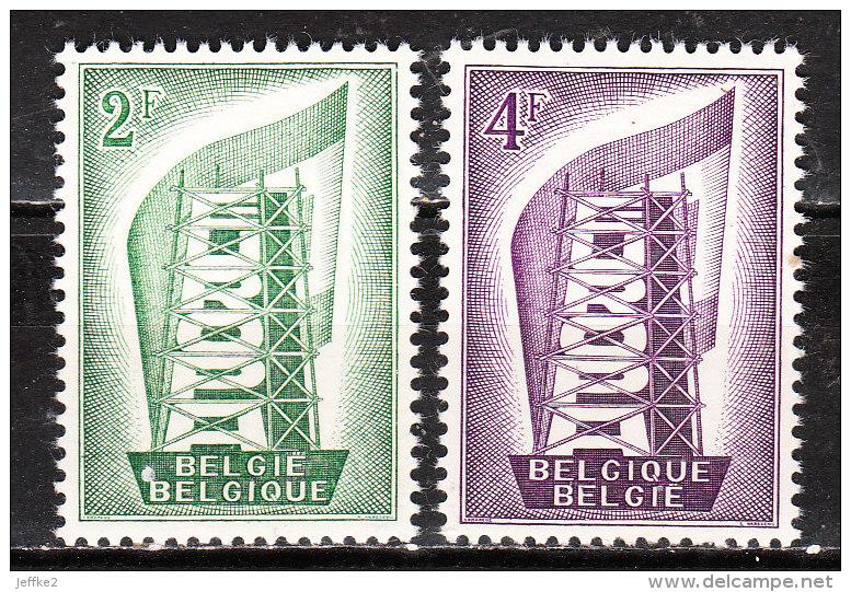 994/995**  Europa 1956 - Série Complète - MNH** - LOOK!!!! - Belgique