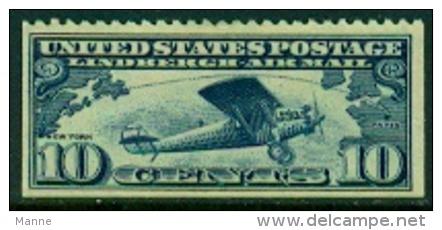 """-USA-1927-""""Lindbergh Airmail"""" (*) - Air Mail"""