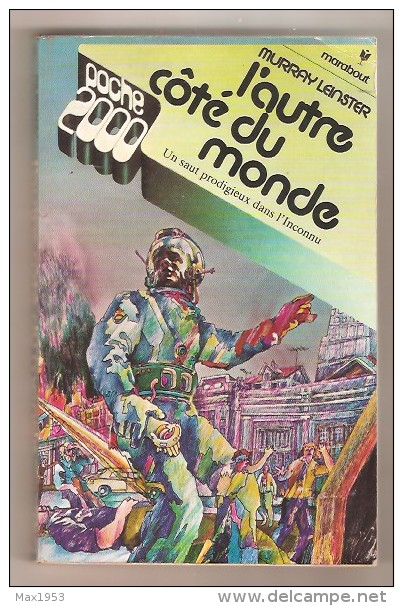 Marabout Poche 2000 N°9 -- Murray Leinster - L'autre Côté Du Monde - Marabout SF