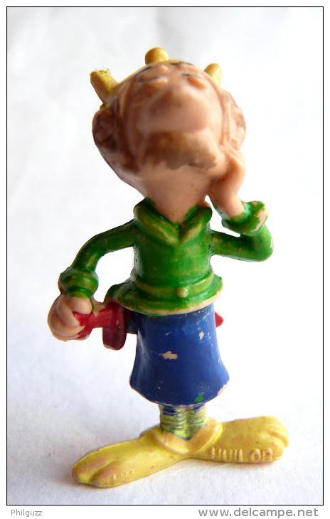 FIGURINE ASTERIX PUBLICITAIRE HUILOR JOLITORAX  1967 (2) - Asterix & Obelix