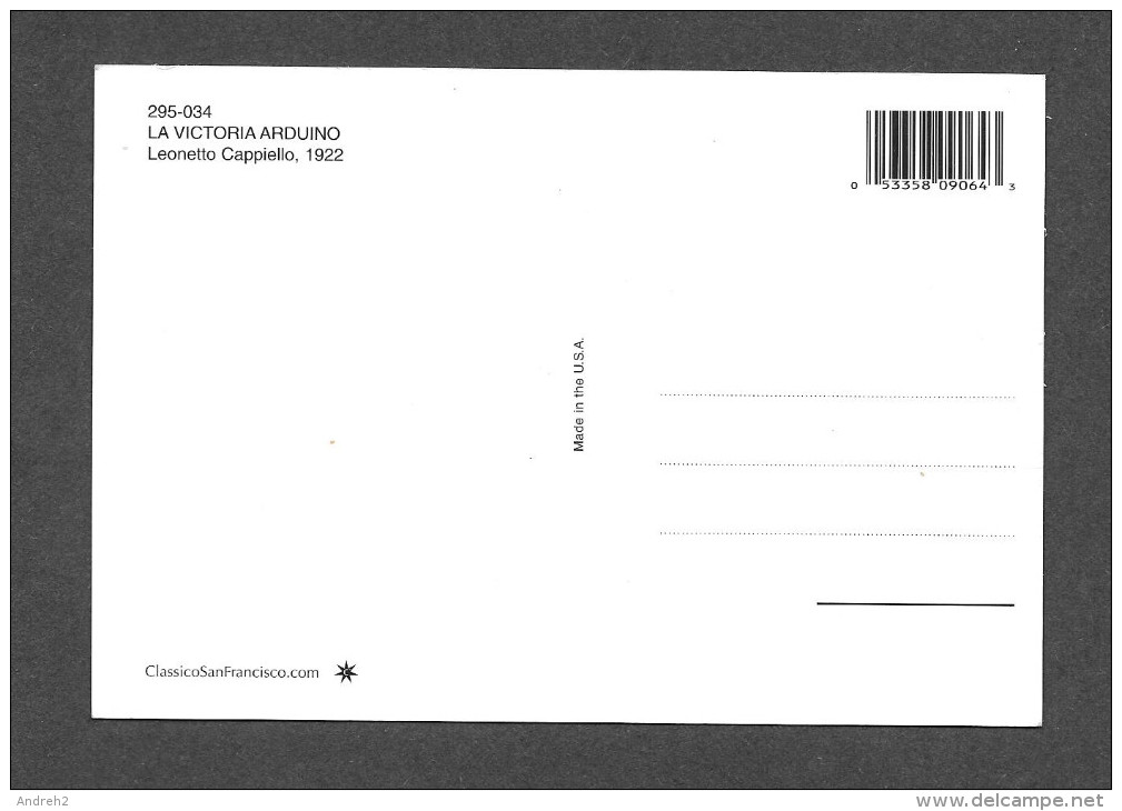 PUBLICITÉ - ADVERTISING - LA VICTORIA ARDUINO PER CAFFÉ ESPRESSO - PAR LEONETTO CAPPIELLO - Advertising