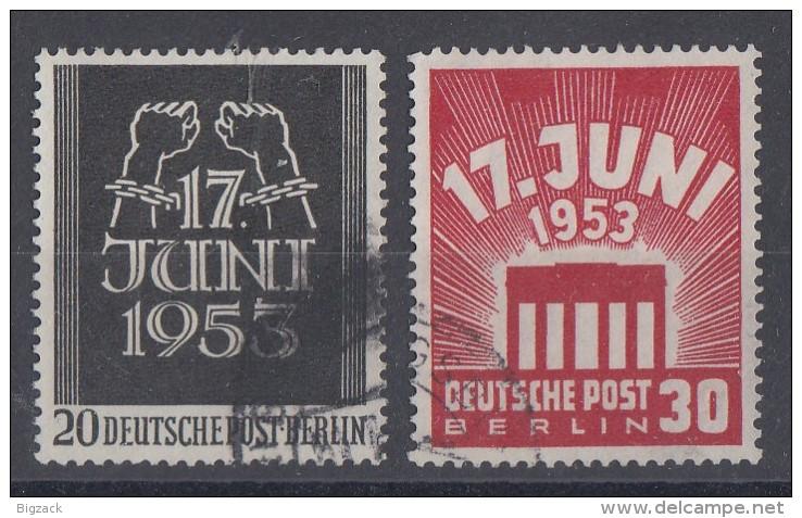 Berlin Minr.110/111 Gestempelt - Berlin (West)