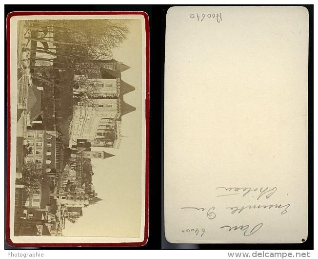 Château Vue Generale 64 Pau France Ancienne CDV Photo 1870 - Photographs