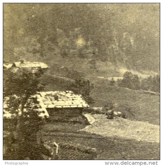 Place Non Localisé Sud France Ancienne Photo CDV 1870 - Photographs