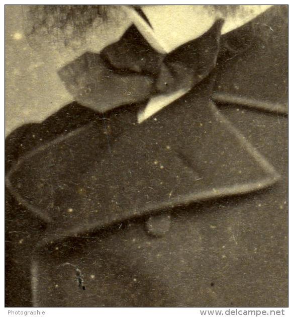 France Lille Homme Mode Du Second Empire Ancienne CDV Photo Carette 1870 - Old (before 1900)