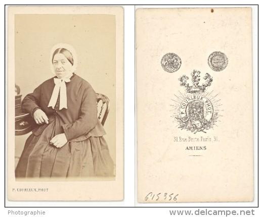 Fashion Second Empire Woman France Old CDV Photo 1865 - Photographs