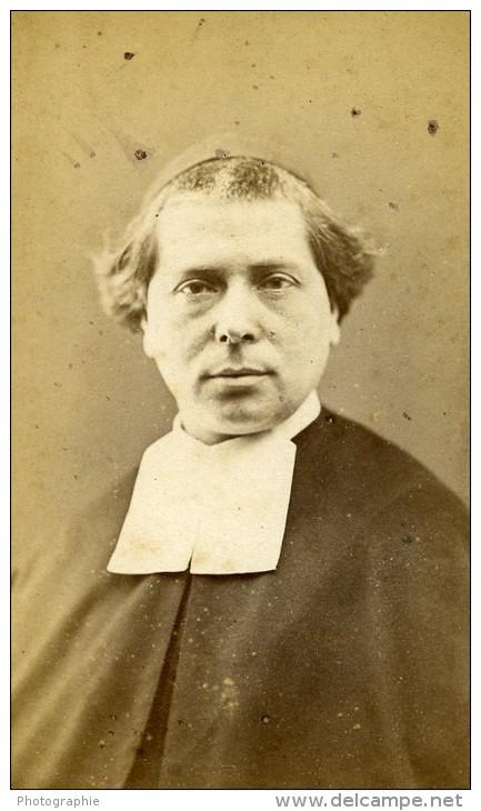 France Paris Ecclésiastique Religion Ancienne CDV Photo Ducasse 1876 - Photographs
