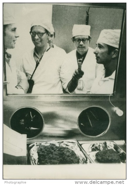Apollo 15 Astronauts NASA Research Lab Old Photo 1971 - Photographs