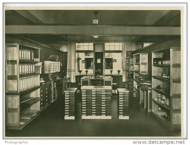 Leipzig Office Supplies Bürobedarf Exhibit Photo 1930 - Leipzig