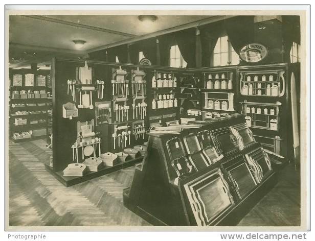 Leipzig Fair Küche Kitchen Utensils Exhibit Photo 1930 - Leipzig