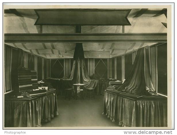 Leipzig Fair Textile Textil Exhibit Old Photo 1930 - Leipzig