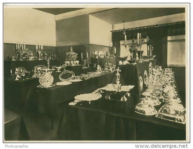 Leipzig Fair Silberwaren Silverware Exhibit Photo 1930 - Leipzig