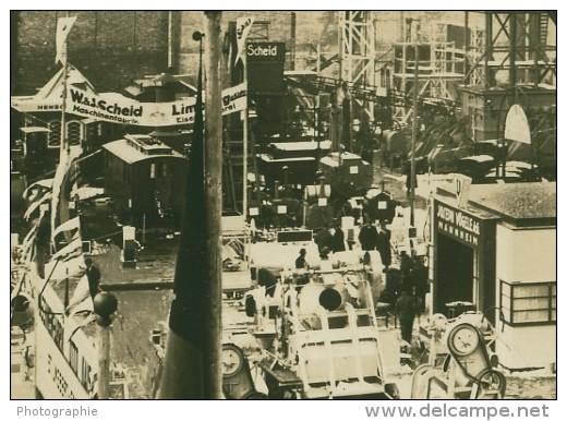 Leipzig Fair Bau Industrie Exhibition Old Photo 1930 - Leipzig