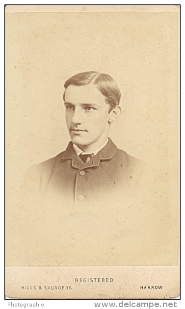 Boy Rendall Family Old CDV Hills & Saunders Photo 1880' - Photographs
