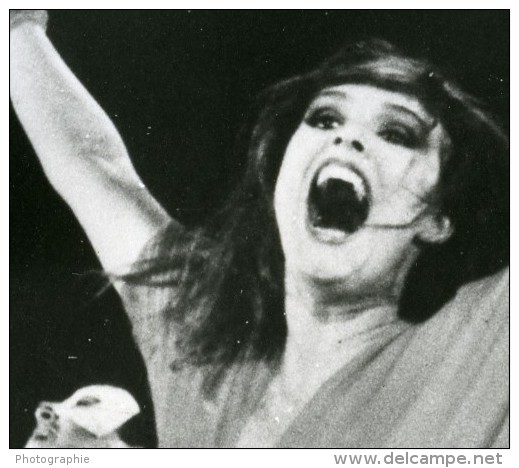 Bresil Brasilia Danse Louise Cardoso Dans Le Reve N Est Pas Fini Ancienne Photo Presse 1980 - Photographs