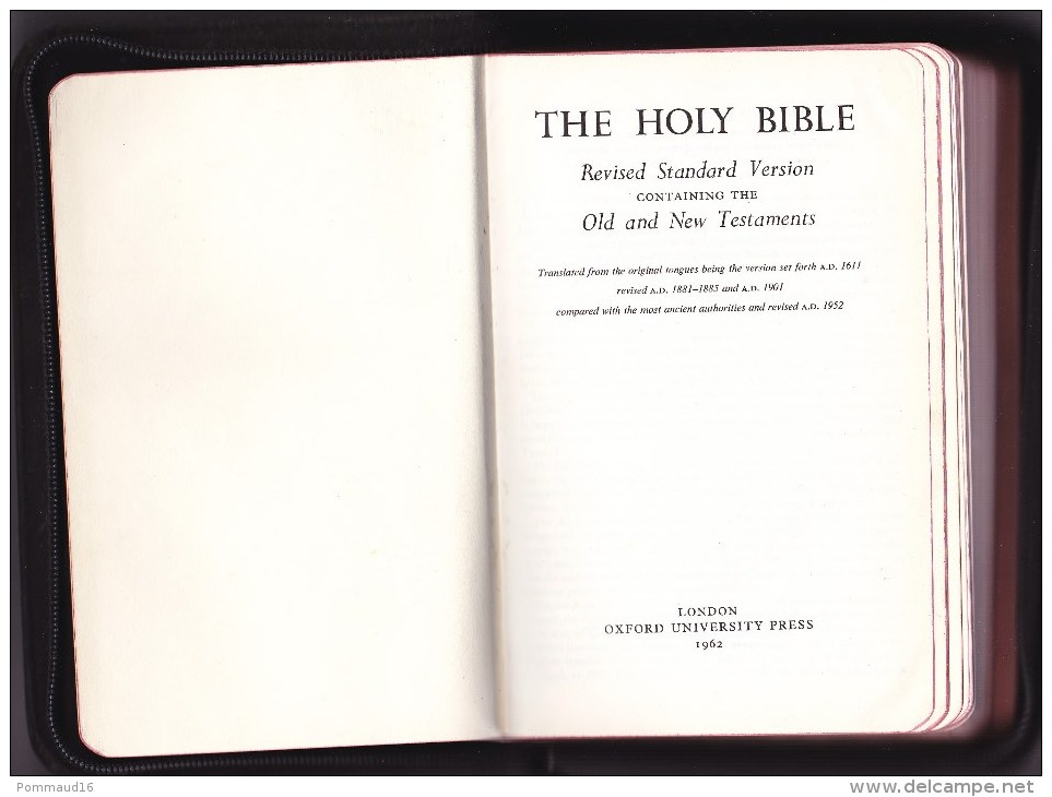 The Holy Bible Revised Standard Version Containing The Old And New Testaments - Christianity, Bibles
