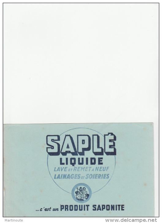 -  BUVARD Liquide SAPLE - 034 - Buvards, Protège-cahiers Illustrés