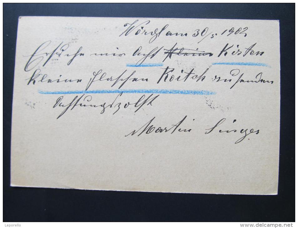 Postkarte GANZSACHE WÖRGL - Rohitsch Sauerbrunn 1903 ///  D*16069 - Briefe U. Dokumente