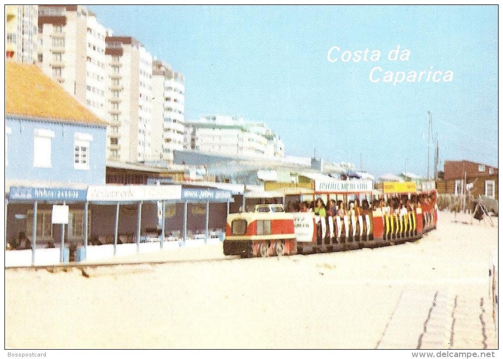Costa Da Caparica - Transporte Ao Longo Do Extenso Areal. Almada. - Setúbal